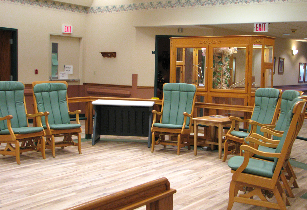 Faith place memory care prairieview lutheran homes for Activity room