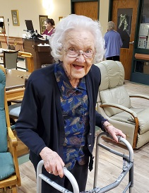 Resident at Faith Place April 2020