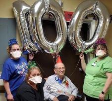 Allen Carley 100 yrs w staff 2020